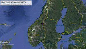Landkarte mit der Gegend, in der sich Brinzola seit dem 18. Mai aufhielt