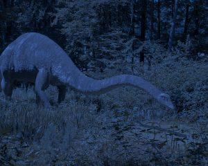 Sauropode in der Nacht