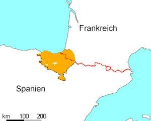 Baskenland an der Biskaya