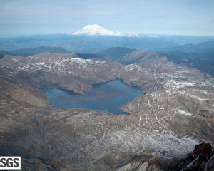 Der Spirit Lake am Mt St. Helens