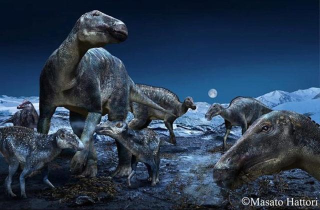 Polare Dinosaurier