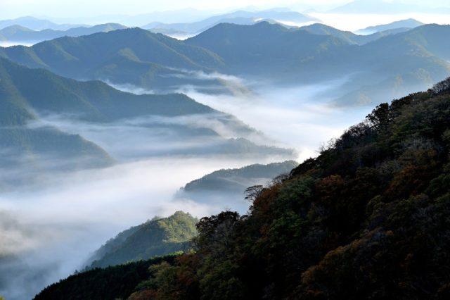 Japanische Berge