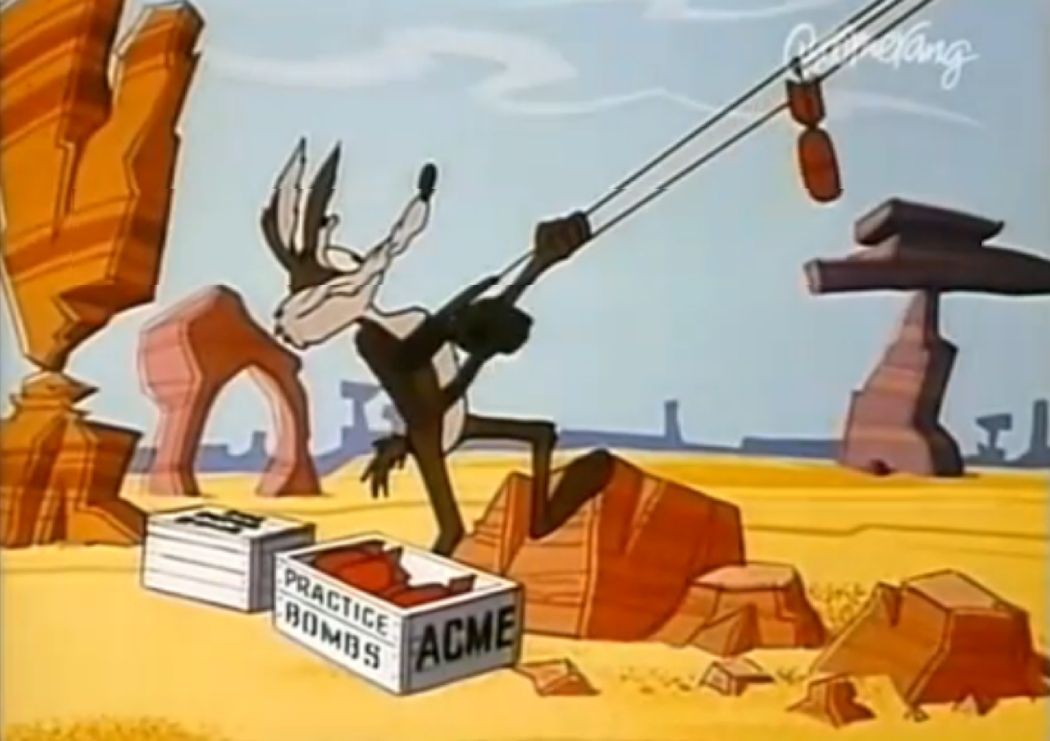 Looney Toons-Koyote