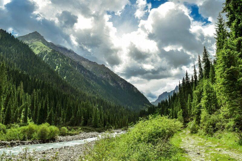 Berge Kasachstans