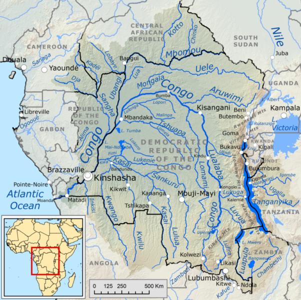 Kongo - Becken