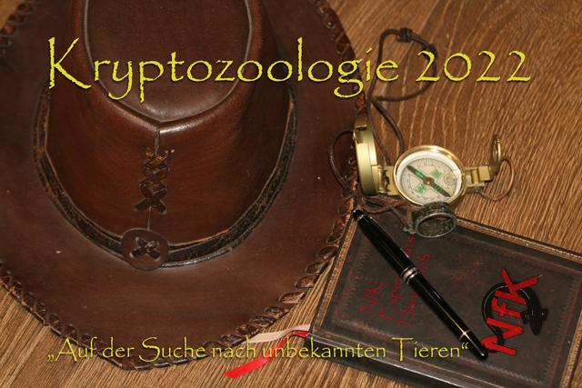 Titelblatt des Kryptozoologie-Kalender 2022